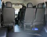 ジャンボタクシー座席